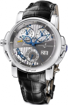 Ulysse Nardin Sonata Cathedral Mens watch, model number - 670-88/212, discount price of £37,650.00 from The Watch Source