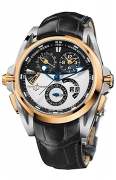 Ulysse Nardin Sonata Streamline Mens watch, model number - 675-01, discount price of £28,942.00 from The Watch Source