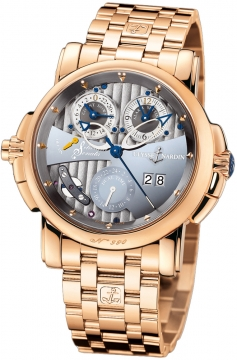 Ulysse Nardin Sonata Silicium Mens watch, model number - 676-85-8, discount price of £55,216.00 from The Watch Source