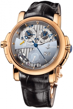 Ulysse Nardin Sonata Silicium Mens watch, model number - 676-85, discount price of £38,332.00 from The Watch Source
