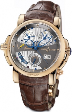 Ulysse Nardin Sonata Cathedral Mens watch, model number - 676-88/212, discount price of £30,997.00 from The Watch Source