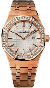 Audemars Piguet Royal Oak Quartz 33mm Ladies watch, model number - 67651or.zz.1261or.01, discount price of £27,360.00 from The Watch Source