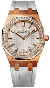 Audemars Piguet Royal Oak Quartz 33mm Ladies watch, model number - 67651or.zz.d010ca.01, discount price of £17,820.00 from The Watch Source