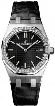 Audemars Piguet Royal Oak Quartz 33mm Ladies watch, model number - 67651st.zz.d002cr.01, discount price of £10,260.00 from The Watch Source