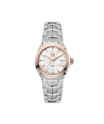 Buy this new Tag Heuer Link Quartz 32mm wbc1350.ba0600 ladies watch for the discount price of £1,615.00. UK Retailer.