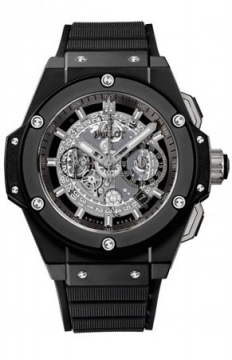 Hublot King Power UNICO Ceramic Black Magic 48mm Mens watch, model number - 701.ci.0170.rx, discount price of £13,280.00 from The Watch Source