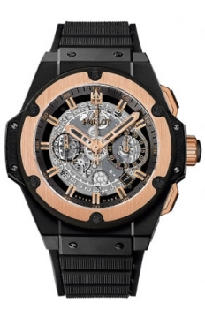 Hublot King Power UNICO Ceramic Black Magic 48mm Mens watch, model number - 701.co.0180.rx, discount price of £16,440.00 from The Watch Source