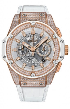 Hublot King Power UNICO Chronograph 48mm Mens watch, model number - 701.oe.0128.gr.1704, discount price of £35,360.00 from The Watch Source