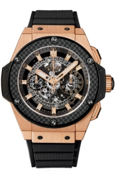 Hublot King Power UNICO Chronograph Gold 48mm Mens watch, model number - 701.oq.0180.rx, discount price of £24,080.00 from The Watch Source