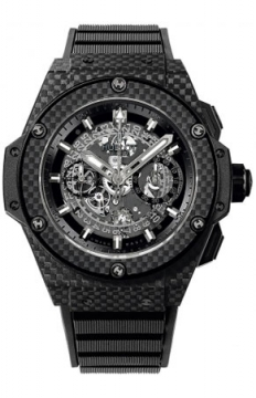 Hublot King Power UNICO All Carbon 48mm Mens watch, model number - 701.qx.0140.rx, discount price of £16,660.00 from The Watch Source
