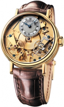 Breguet Tradition Manual Wind 37mm Mens watch, model number - 7027ba/11/9v6, discount price of £14,720.00 from The Watch Source