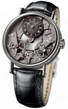 Breguet Tradition Manual Wind 37mm Mens watch, model number - 7027bb/g9/9v6, discount price of £17,640.00 from The Watch Source