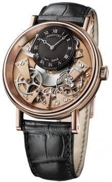 Breguet Tradition Manual Wind 40mm Mens watch, model number - 7057br/r9/9w6, discount price of £16,745.00 from The Watch Source