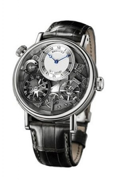 Breguet Tradition GMT Manual Wind 40mm Mens watch, model number - 7067bb/g1/9w6, discount price of £22,880.00 from The Watch Source