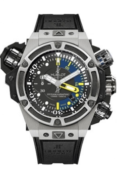 Hublot King Power Oceanographic 1000 48mm Mens watch, model number - 732.nx.1127.rx, discount price of £13,840.00 from The Watch Source