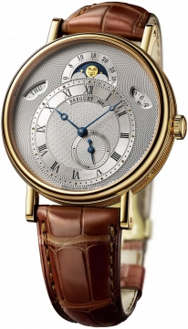 Breguet Classique Day Date Moonphase Mens watch, model number - 7337ba/1e/9v6, discount price of £22,000.00 from The Watch Source