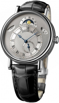 Breguet Classique Day/Date/Moonphase Mens watch, model number - 7337bb/1e/9v6, discount price of £22,800.00 from The Watch Source