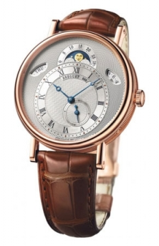 Breguet Classique Day Date Moonphase Mens watch, model number - 7337br/1e/9v6, discount price of £23,880.00 from The Watch Source