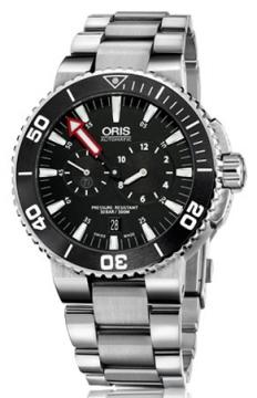 Oris Regulateur Der Meistertaucher Mens watch, model number - 0174976777154-Set, discount price of £1,595.00 from The Watch Source