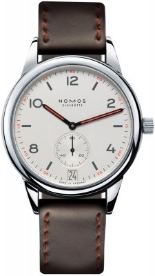 Nomos Glashutte Club Automat Datum 41.5mm 771 watch