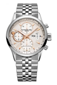 Raymond Weil Freelancer Mens watch, model number - 7730-st-65025, discount price of £1,885.00 from The Watch Source