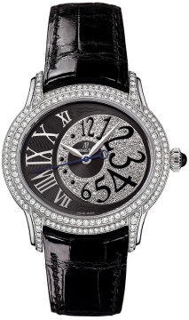 Audemars Piguet Ladies Millenary Automatic Ladies watch, model number - 77302bc.zz.d001cr.01, discount price of £47,880.00 from The Watch Source