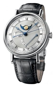 Breguet Classique Moonphase Power Reserve 39mm Mens watch, model number - 7787bb/12/9v6, discount price of £18,360.00 from The Watch Source