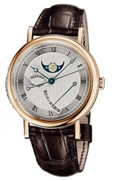 Breguet Classique Moonphase Power Reserve 39mm Mens watch, model number - 7787br/12/9v6, discount price of £18,020.00 from The Watch Source