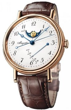 Breguet Classique Moonphase Power Reserve 39mm Mens watch, model number - 7787br/29/9v6, discount price of £18,020.00 from The Watch Source