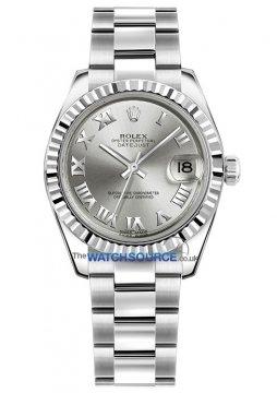 Rolex Datejust 31mm Stainless Steel 178274 Rhodium Roman Oyster watch