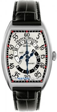 Franck Muller Cintree Curvex Complications Mens watch, model number - 7880 D HR WG Silver , discount price of £14,640.00 from The Watch Source