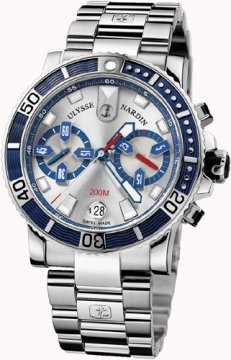 Ulysse Nardin Maxi Marine Diver Chronograph Mens watch, model number - 8003-102-7/91, discount price of £6,635.00 from The Watch Source
