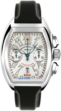 Franck Muller Conquistador Mens watch, model number - 8005 K CC Silver , discount price of £15,360.00 from The Watch Source