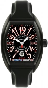 Franck Muller Conquistador Mens watch, model number - 8005 K SC NR Black, discount price of £9,320.00 from The Watch Source
