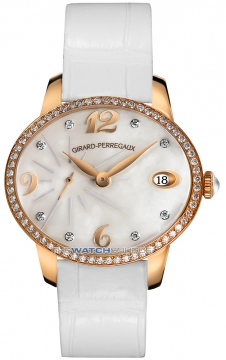 Girard Perregaux Cat's Eye Small Seconds Automatic Ladies watch, model number - 80484D52A761-BK7A, discount price of £14,760.00 from The Watch Source