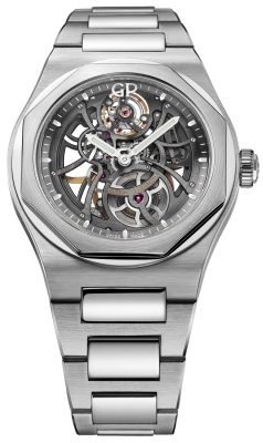 Girard Perregaux Laureato Skeleton Automatic 42mm 81015-11-001-11a watch