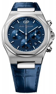 Girard Perregaux Laureato Chronograph 42mm 81020-11-431-bb4a watch