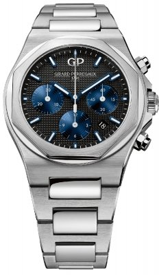 Buy this new Girard Perregaux Laureato Chronograph 42mm 81020-11-631-11a mens watch for the discount price of £9,435.00. UK Retailer.