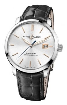 Ulysse Nardin San Marco Classico Automatic 40mm Mens watch, model number - 8153-111-2/90, discount price of £4,721.00 from The Watch Source