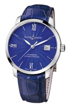 Ulysse Nardin San Marco Classico Automatic 40mm Mens watch, model number - 8153-111-2/e3, discount price of £5,287.00 from The Watch Source