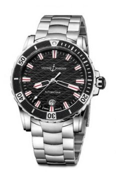 Ulysse Nardin Lady Diver 40mm Ladies watch, model number - 8153-180-7/02, discount price of £4,904.00 from The Watch Source