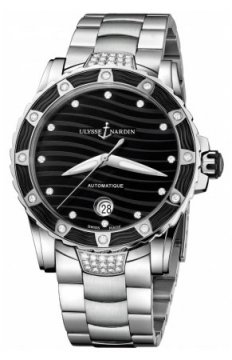 Ulysse Nardin Lady Diver 40mm Ladies watch, model number - 8153-180e-7c/12, discount price of £7,552.00 from The Watch Source