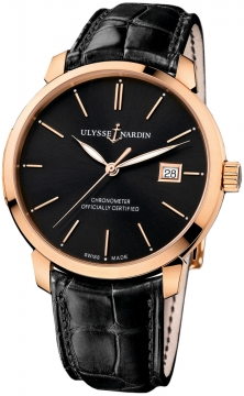 Ulysse Nardin San Marco Classico Automatic 40mm Mens watch, model number - 8156-111-2/92, discount price of £8,687.00 from The Watch Source