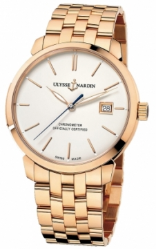 Ulysse Nardin San Marco Classico Automatic 40mm Mens watch, model number - 8156-111-8/91, discount price of £21,505.00 from The Watch Source