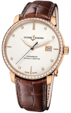Ulysse Nardin San Marco Classico Automatic 40mm Mens watch, model number - 8156-111b-2/991, discount price of £11,772.00 from The Watch Source