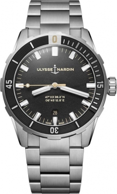 Buy this new Ulysse Nardin Diver 42mm 8163-175-7M/92 mens watch for the discount price of £5,015.00. UK Retailer.