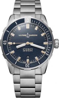 Ulysse Nardin Diver 42mm 8163-175-7M/93 watch
