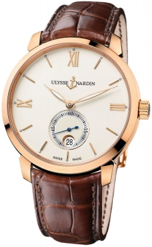 Ulysse Nardin San Marco Classico Automatic Small Seconds 40mm Mens watch, model number - 8276-119-2/31, discount price of £7,777.00 from The Watch Source