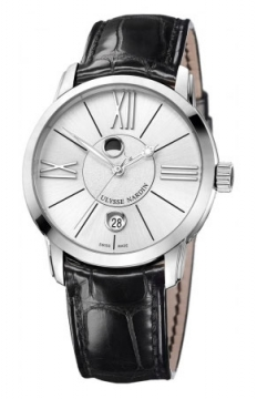 Ulysse Nardin Classico Luna 40mm Mens watch, model number - 8293-122-2/41, discount price of £5,350.00 from The Watch Source