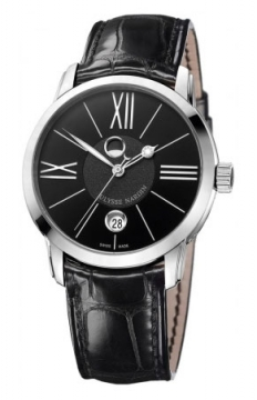 Ulysse Nardin Classico Luna 40mm Mens watch, model number - 8293-122-2/42, discount price of £5,350.00 from The Watch Source